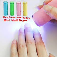 1pcpack Mini Uv Gel Curing Lamp Portability Nail Dryer Led Flashlight Currency Detector 9 Led Aluminum Alloy Aaa Battery Unfair Weight