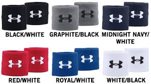 Under Armour Color Chart Under Armour 3in Performance Wristbands