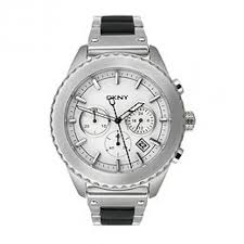 dkny chronograph silver dial stainless steel black silicone dkny chronograph silver dial stainless steel black silicone men s watch ny8765