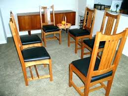 arts and crafts dining table arts and crafts dining table mission style dining room set charming