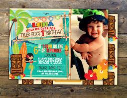 Hawaiian Pool Party Invitations Tiki Party Hawaii Invitation Pool Party Invitation Surfer Etsy