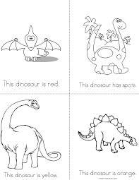 Dinosaur Printable Book#497565