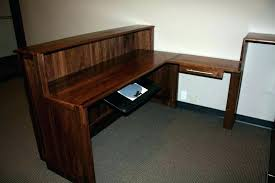 custom made office furniture. custom made desk office furniture table format black walnut .