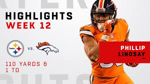 Steelers Phillip Highlights Lindsay Vs cacfbaaede|2 QBs Who Received Super Bowls
