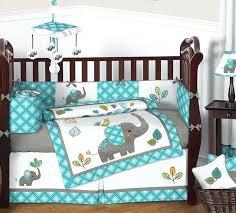 crib boy bedding sets mod elephant 9 piece crib bedding set baby boy crib bedding sets