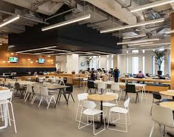 Cafeteria Lighting Design Studio N Commercial Office Workplace Lighting Design And
