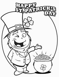 St Patricks Day Coloring Coloring Pages Coloring Pages Freeable St Patrick Day