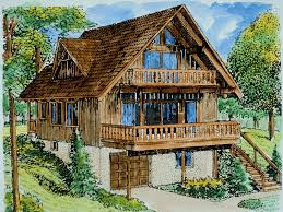 house plans and more. Chalet Cottage Plans Cupola Pond Vacation Cabin Home Plan House More Buildi On Swiss And