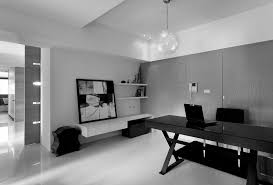 charming white office. Office Large-size Interior Furniture Home Charming Modern Excerpt Black And White. Designer White I