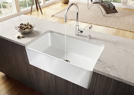 blanco cerana 30 fireclay a front kitchen sink