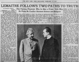 Resultado de imagen de Albert Einstein. Lemaitre