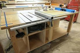 diy table saw table router table and table saw workbench building plan diy table saw fence