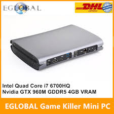 Eglobal Game Killer <b>Mini PC</b> Computer Intel <b>Quad Core</b> i7 6700HQ ...