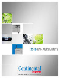 Dl Foodservice Design Continental Refrigerator 2019 Product Enhancements By Joe
