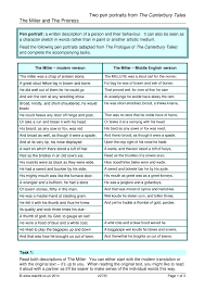 essay on the canterbury tales the canterbury tales summary a  chaucer geoffrey ks poetry key stage resources 0 preview the canterbury tales
