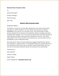 Project Proposal Letter Example Sample No Objection Certificate