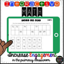 Interactive Counting Chart Interactive 1 Nbt 1 Math Read Count To 120 For The Google Drive Classroom