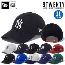 New Gills Cap Newera 9twenty 920 Leather Strap Hat Snapback Size Adjustment Possibility Snapback Present