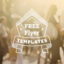 Make A Flyer People Will Want To Take 15 Free Flyer Templates