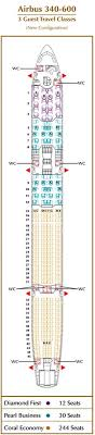 etihad airways airlines airbus a340 600 aircraft seating chart