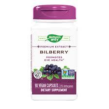 <b>Standardized Bilberry Extract</b>   Nature's Way