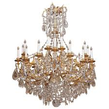 wonderful antique baccarat crystal chandelier