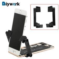 diywork mobile phone repair bracket for iphone ipad tool lcd screen fastening fixture clamp universal phone repair stand holder