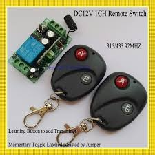 garage door opener transmitterDC12V Radio Remote Control Switch System Receiver Transmitter