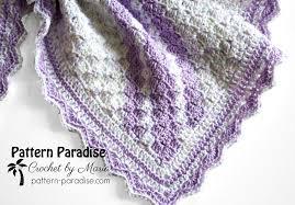 Free Crochet Baby Blanket Patterns Enchanting Free Crochet Pattern Confetti C48C Baby Blanket Pattern Paradise