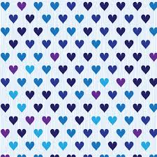 Heart Pattern New Blue And Violet Shade Heart Pattern Vector Free Vector Download In