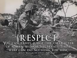 Amazoncom Respect Poster Military Motivation Poster Inspirational