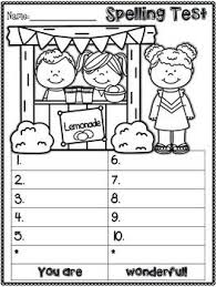 7d9cb4cd03230e91ec02a5499badc2a4 25 best ideas about spelling test on pinterest english spelling on kindergarten sight word test template