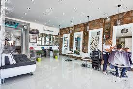 Modern Design Hair Salon Orihuela Spain June 15 2016 Beauty Salon With Modern Design