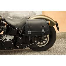 folk s leather saddlebags for 2016 2017 harley davidson slim models ends cuoio squared