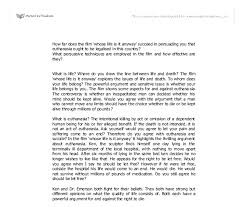 whose life is it anyway essay whose life is it anyway essay melek96