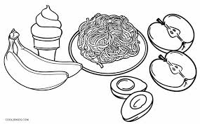 Coloring is fantastic fun and our printable coloring pages have something for everyone. Free Printable Food Coloring Pages For Kids