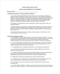 10+ Hipaa Confidentiality Agreement Templates - Pdf, Doc | Free ...