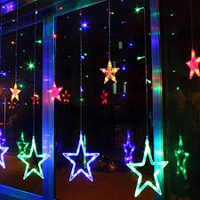 Rgb Outdoor Christmas Lights Christmas Light China Supplier Outdoor Decorative Rgb Led Star Icicle Lights For Home Window Buy Led Star Icicle Lights Falling Star Led Christmas