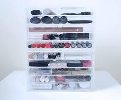 photo 5 of 7 acrylic makeup drawers uk 5 muji makeup storage