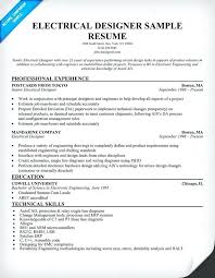 Sample Resume For Electrician Awesome Electrical Engineering Resume Samples Letsdeliverco