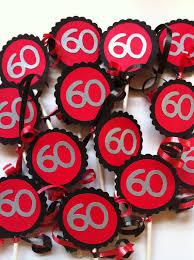 Red 60th Birthday Decorations Hemmensland