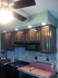 before and after cabinet painting in ridgefield nj