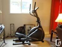 vision fitness x6100 elliptical trainer 1 699