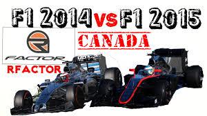 mercedes mclaren f1 2014. f1 2015 vs 2014 rfactor comparison mclarenhonda mp430 mclaren mercedes mp429 on canada youtube mclaren