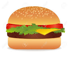 Image result for hamburger clipart