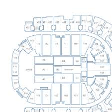 The O2 Arena Interactive Seating Chart