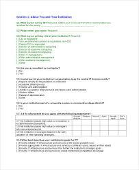 Sample Surveys Questionnaires 29 Survey Questionnaire Examples Pdf Examples