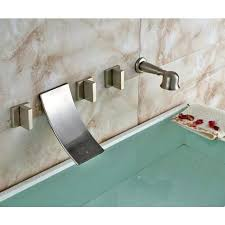 waterfall tub spout wall mount contemporary waterfall tub faucet wall mount waterfall