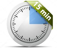 Timer For 15 Min 15 Minutes Timer Stock Vector Yuriy_vlasenko 47730781