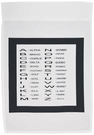 Translates the normal alphabet into the phonetic alphabet used in the military. Buy 3drose Mug 182351 2 Print Of The Phonetic Alphabet Used By Pilots And Service Men N Women Ceramic Mug 15 Ounce White In Cheap Price On M Alibaba Com
